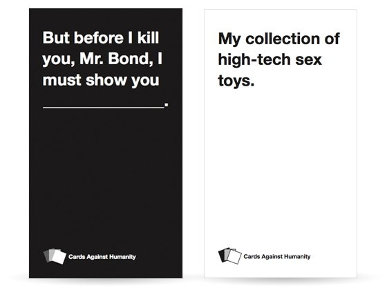 Exemple : Cards Against Humanity