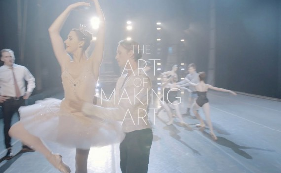 [Video] The Art of Making Art : dans les coulisses d'un ballet (à voir sur T'es Pas Net !)