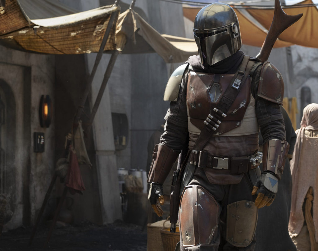 "Première photo de la série Star Wars : ""The Mandalorian"""