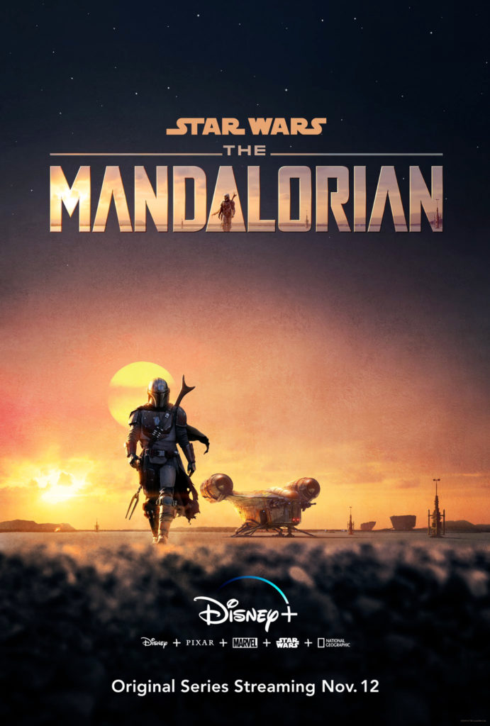 Affiche de Star Wars The Mandalorian